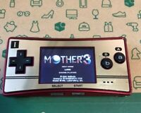 Nintendo GameBoy Micro 20th Anniversary Edition Famicom Color Console Tested
