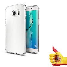 Funda Carcasa Transparente Ultrafina Tpu Gel Para Samsung Galaxy S6 Edge Curvo
