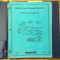Komatsu Dresser ELECTRICAL BASIC SERVICE TECHNICAL TRAINING MANUAL GUIDE BOOK