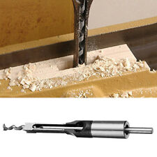 10mm HSS Square Hole Saw Wood Drill Bit Mortising Chisel Woodworking Tool Bits