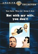 NOT WITH MY WIFE YOU DONT - (1966 Tony Curtis) Region Free DVD - Sealed