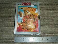 MELTDOWN VIDEO GAME - ATARI 7800 BRAND NEW SEALED! Boxed Cartridge PAL Melt Down