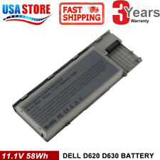 Battery for Dell Latitude D620 D630 D631 M2300 TYPE PC764 - 58Wh