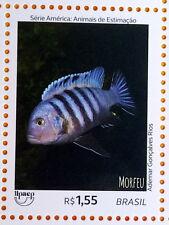 BRAZIL Stamp America Series UPAEP FISH 2018