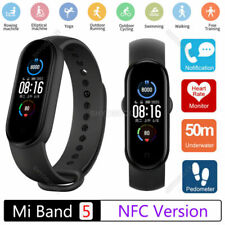Xiaomi Mi Band 5 AMOLED Smart Watch Heart Rate Sleep Monitor Tracker Waterproof