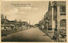 AK Ohrdruf ca. 1915 (?) Truppenlager Großherzog von Sachsen Str. / Gotha Ilmenau
