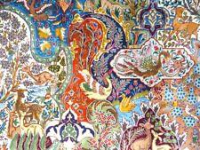 "Cr.1930 Antique Persian Kashmar Hand Made Exquisite Rug 9' 10"" x 13' 2"""