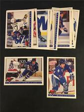 1993/94 Topps Premier Quebec Nordiques Team Set 19 Cards