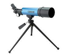Carson Aim Refractor Beginner Child Telescope 20-80X 50mm Tabletop Astronomy