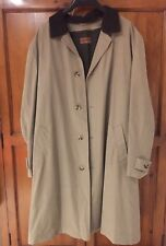 Men's Marks and Spencer Collezione Smart Work Raincoat With Detachable Lining L