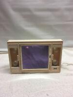 Underwriters Lab  Inc Dresser Lighted Makeup Double Side Portable Lamp vintage