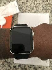 NEW Open..Apple Watch Series 4 44 mm Silver Aluminum with Bands (GPS + Cellular)