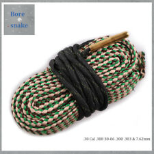 Bore Snake .30 Cal .308 30-06 .300 .303 & 7.62mm Caliber Rifle/Pistol Cleaner