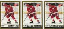 STEVE YZERMAN 1999-00 O-PEE-CHEE MAGIC MOMENTS  (3)CARDS SHORT-PRINT PARALLEL