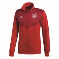 Adidas Herren FC Bayern München 3S Track Top FCB Jacke Trainingsjacke rot