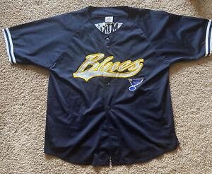 Pavol Demitra Blues Vintage Jersey Size XL Joy Brand Great Condition