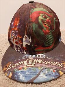 Insane Clown Posse Hat 2009 ICP Rare Dark Carnival Joker Faces Virtis Cap