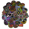 50pcs Funny Skateboard Stickers PVC Laptop Luggage Decals Waterproof Sticker Lot
