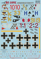 Print Scale 48-029 - 1/48 Decal for Messershmit Me-109 E Part 1