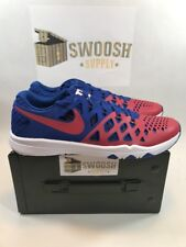 NIKE TRAIN SPEED 4 AMP NFL NEW YORK GIANTS BLUE RED NEW 848587-610 SIZE 13