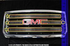 GTG 2015 - 2017 GMC Sierra 2500 4PC Polished Overlay Billet Grille Grill Kit
