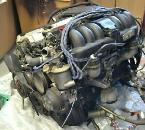 Engine Original Mercedes Benz SL320 Sl 129 3.2L M104 E 32 Top