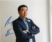 ANDREW YANG 2020 PRESIDENTIAL CANDIDATE SIGNED 8x10 PHOTO D MATH w/EXACT PROOF