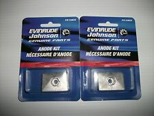 NEW JOHNSON AND EVINRUDE OUTBOARD ANODE KIT. SUITS 9.9 & 15 HP.