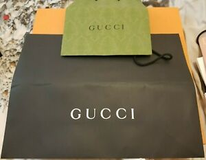 Gucci, Gift Bags, Used, nice condition
