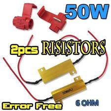 1156 1157 S25 LED Car Bulbs 50W 6 Ohm RESISTORS P21W 382 BA15s 3156 7440