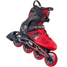 Rollers et patins rouge pour Homme