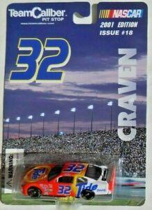 Ford Nascar 32 Craven - 2001 Ausgabe - Team Caliber 1:64