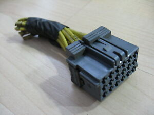 AMP Freightliner Columbia 967634-1C  18-pin Connector w/ Wiring for ABS #M261VT