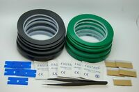 3M 471 black and green Vinyl Tape set  for Decoration, Masking & tools