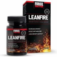 Force Factor LeanFire, Metabolism Booster + Weight Loss, 30 Ct