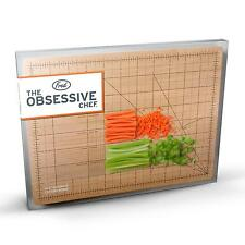 Fred - Obsessive Chef Wooden Chopping Board - for REALLY Precise Veg Chopping