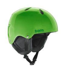 Bern Green Ski & Snowboard Helmets