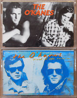 2x THE O'KANES CASSETTE TAPES LOT BLUES COUNTRY ROCK POP TIRED OF RUNNIN' EX CON