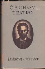 LIBRO CECHOV ANTÒN TEATRO SANSONI