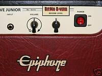 BITMO B-VERB REVERB - mod kit for Epiphone Valve Jr