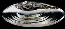 CLAM SHELL SHAPED STERLING SERVING BOWL BY WALLACE SILVERSMITHS