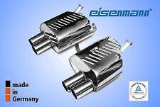 Eisenmann BMW z4 M ROADSTER e85/COUPE e86 4x83mm l'ORIGINALE! in acciaio inox