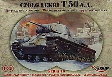 Mirage 1/35 T50 A A Russian Light Tank CZOLG LEKKI 35106