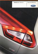 Ford Galaxy Titanium Prospekt 2/08 brochure 2008 Autoprospekt Broschüre broschyr