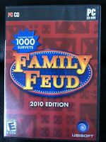Family Feud 2010 Edition - PC excellent used condition