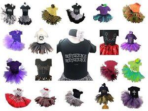 Children Tutu Skirt Baby Vest Fancy Dress Costume Halloween Comic Hero T-Shirt