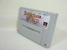 SWORD WORLD SFC Super Famicom SNES Nintendo Import Japan Cartridge sfc