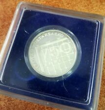 "HUNGARY SILVER COIN , 750 FORINT ,1997 ""FRANCE FIFA ""  + BOX , 10G"