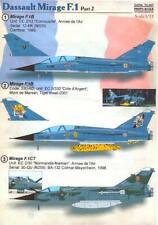 Print Scale Decals 1/72 DASSAULT MIRAGE F.1 French Jet Fighter Part 2
