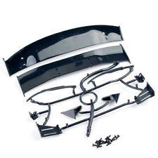 Black 025008 Fit 1/10 RC Car Body GT Rear Spoiler Tail Wing Side Mirror